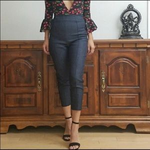 Denim - Eloise Cigarette Pants Modern